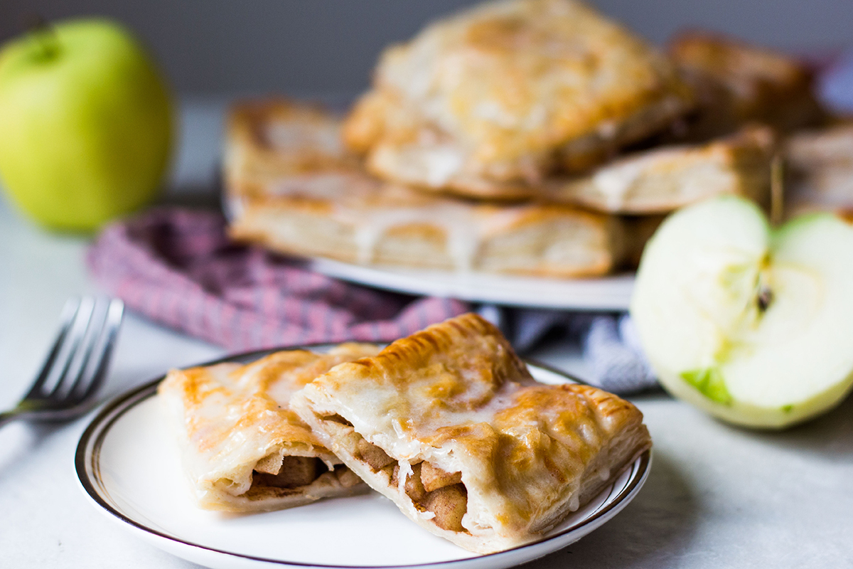 home made apple pop tarts