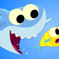 Baby Shark Coloring Pages Super Simple