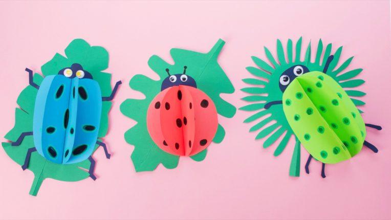 Polka Dot Bug Craft