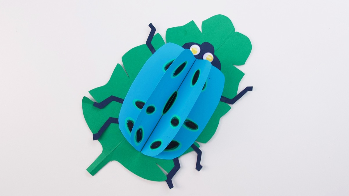 Polka Dot Bug Craft