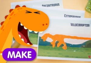 Dinosaur Scratch Card Thumbnail