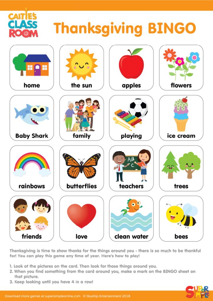 image regarding Free Printable Thanksgiving Bingo Cards named Thanksgiving BINGO - Tremendous Very simple
