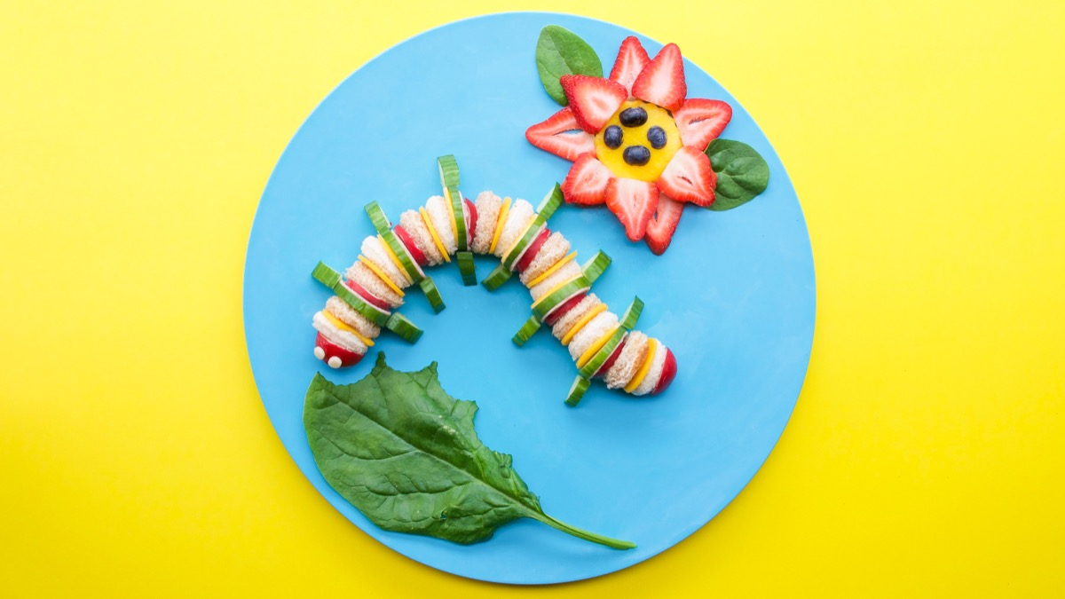 Make Food Fun for Kids with Food Art