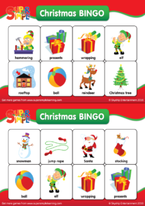 practice holiday and winter vocabulary with these ready to go christmas bingo cards download includes a set of calling cards