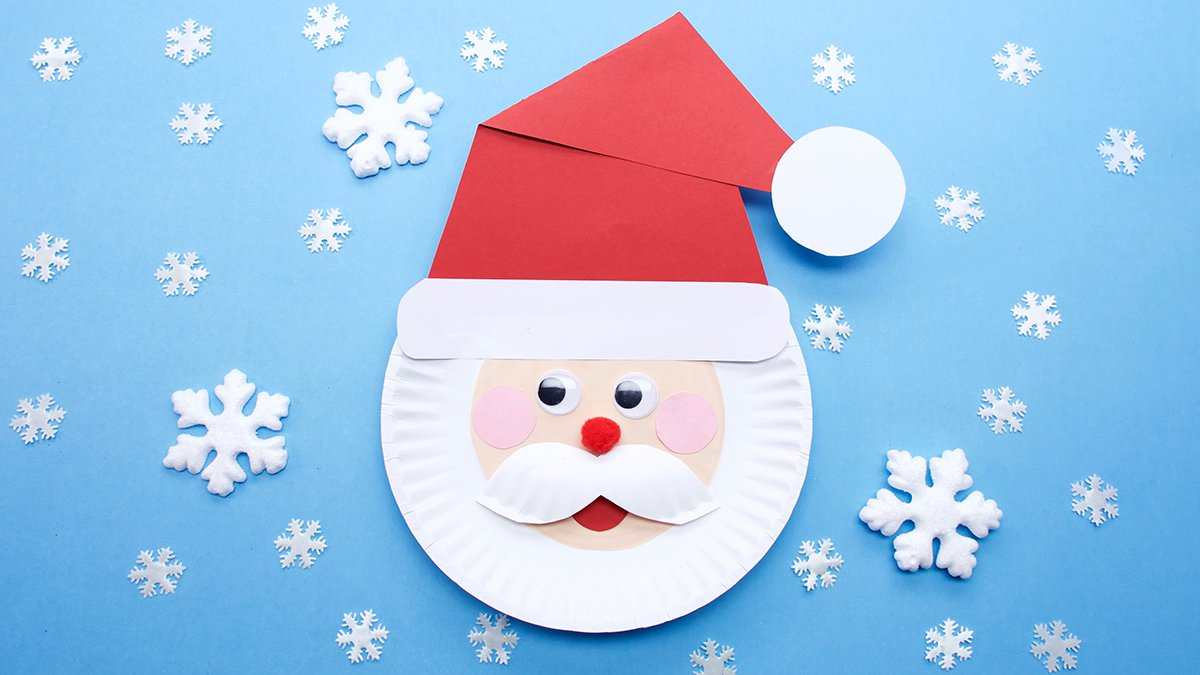 Jolly Santa Craft Super Simple