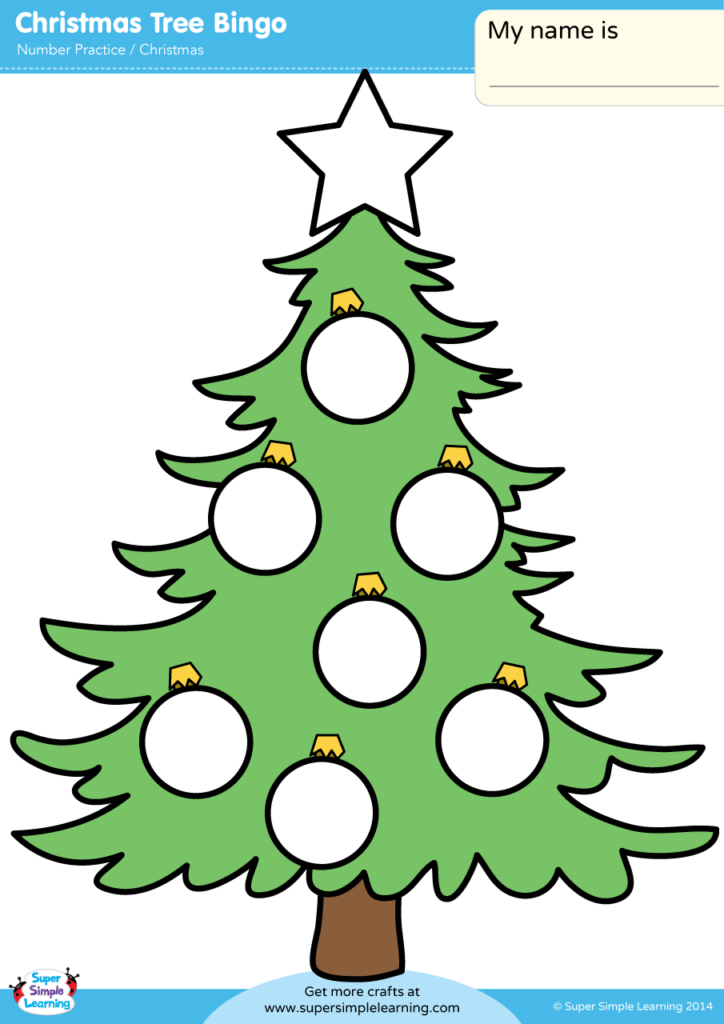 Practice numbers with this Christmas Tree BINGO Game. First, have kids write numbers between 1 and 20 on the Christmas tree game board (don't forget the ...