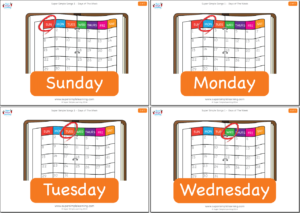 days of the week  super simple songs days of the week flashcards