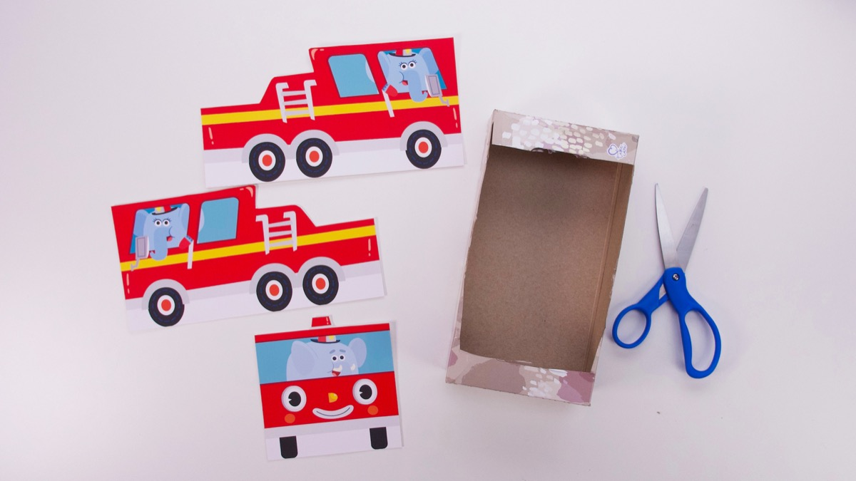 Here Comes The Fire Truck Play Set - Fancy Version