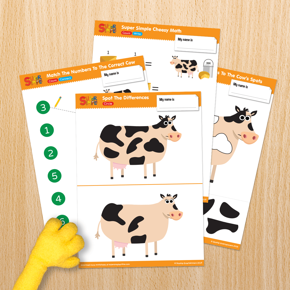 Cow Resource Sheets