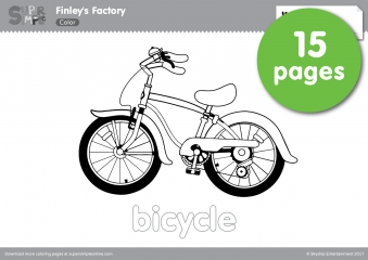 Finleys Factory Coloring Pages