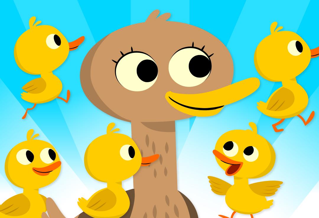 five little ducks super simple songs