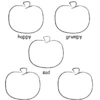 Five Little Pumpkins Worksheet