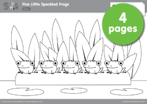 Five Little Speckled Frogs Super Simple