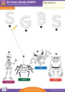 Go Away, Spooky Goblin! - Super Simple Songs