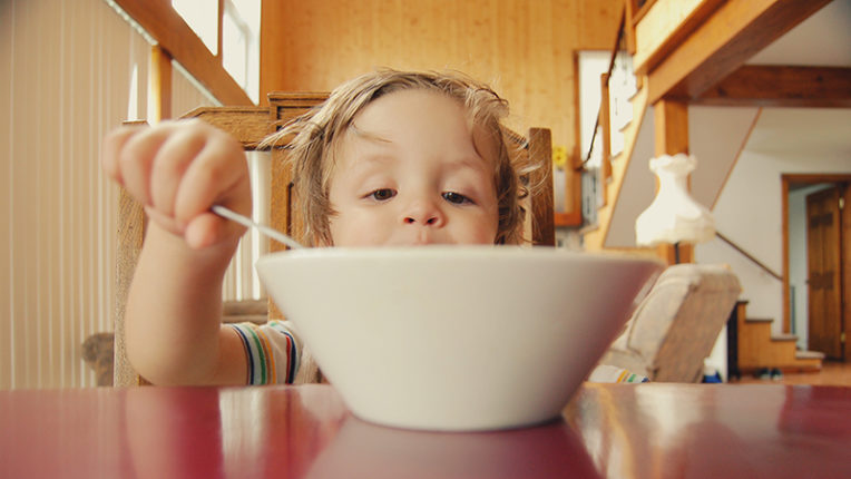 Child with Bowl