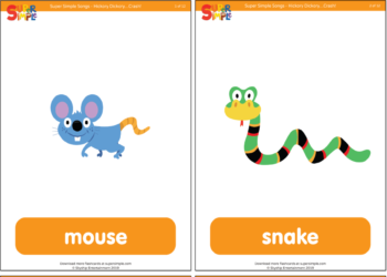 Hickory Dickory…Crash! Flashcards