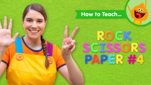 How To Teach Rock Scissors Paper #4