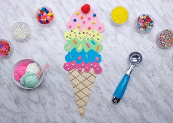 Paper Ice Cream Cones