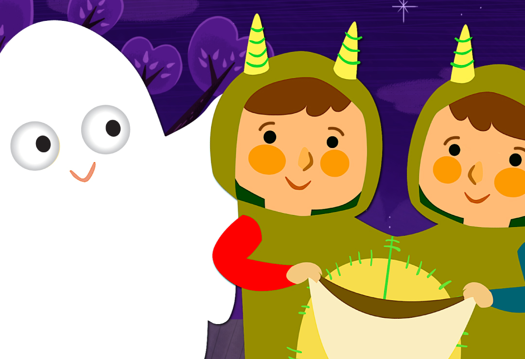 knock knock, trick or treat? | super simple songs