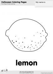 Coloring pages resource type super simple for Lemon coloring page