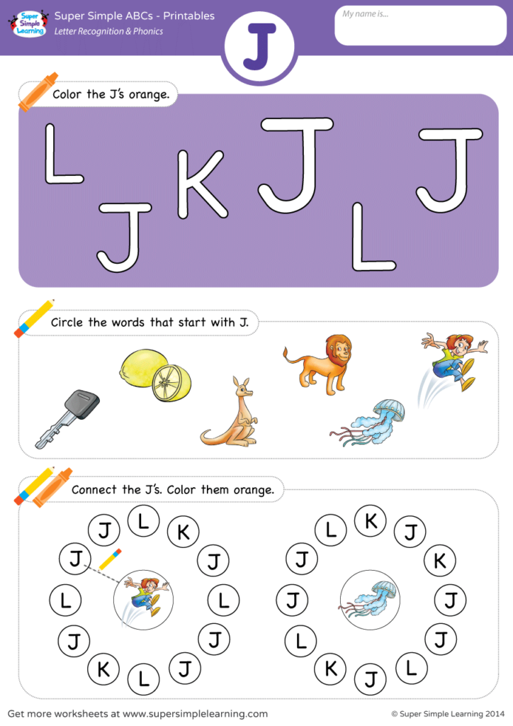Letter Recognition amp Phonics Worksheet