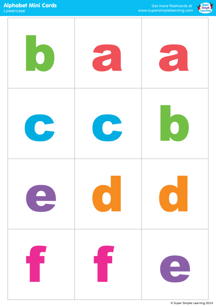 It is a photo of Printable Lowercase Alphabet Letters with regard to identification