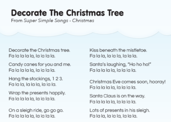 Walking Around The Christmas Tree Song Lyrics