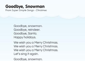 photo regarding Words to We Wish You a Merry Christmas Printable named Music Lyrics - Tremendous Straightforward