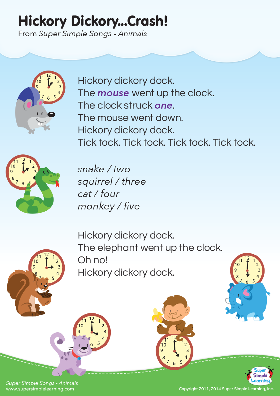 Hickory DickoryCrash Lyrics