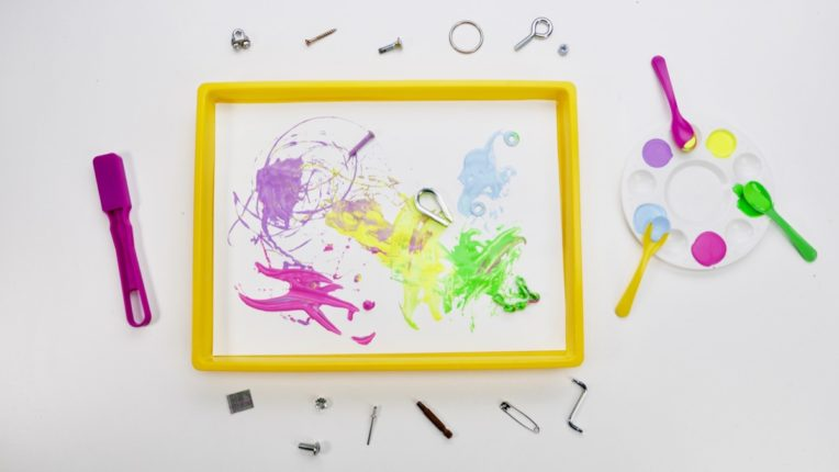 Painting with Magnets!