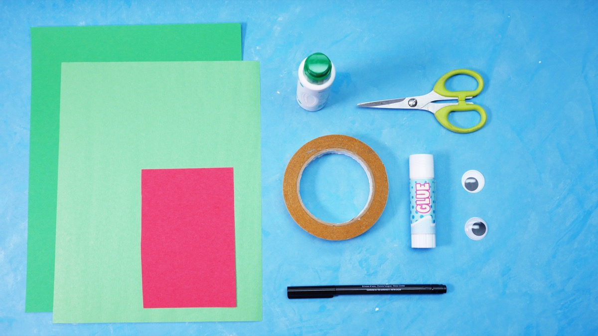 Jumping Frog Craft - Super Simple