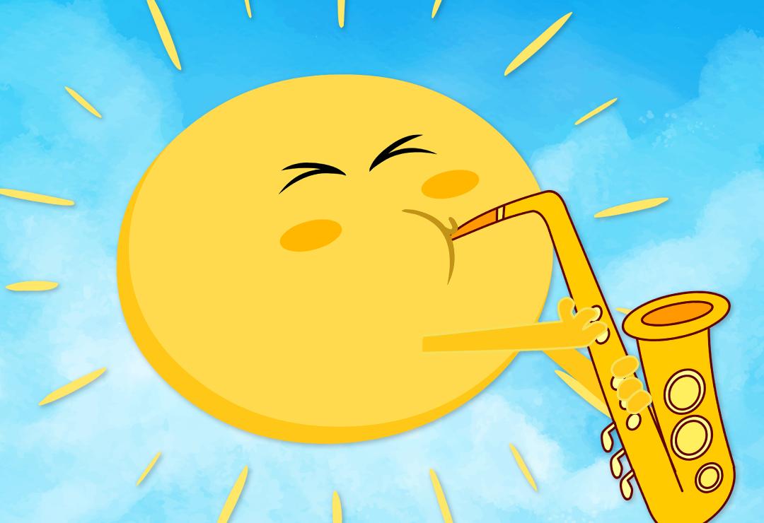 Mr Golden Sun Super Simple Songs