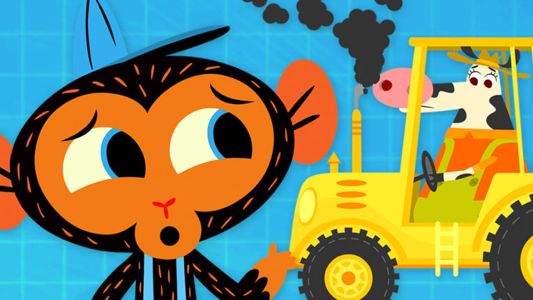 Miss Cow's Tractor Is Polluting the Environment
