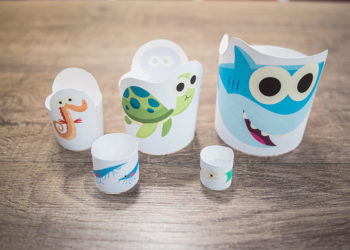 Food Chain Nesting Doll Printables