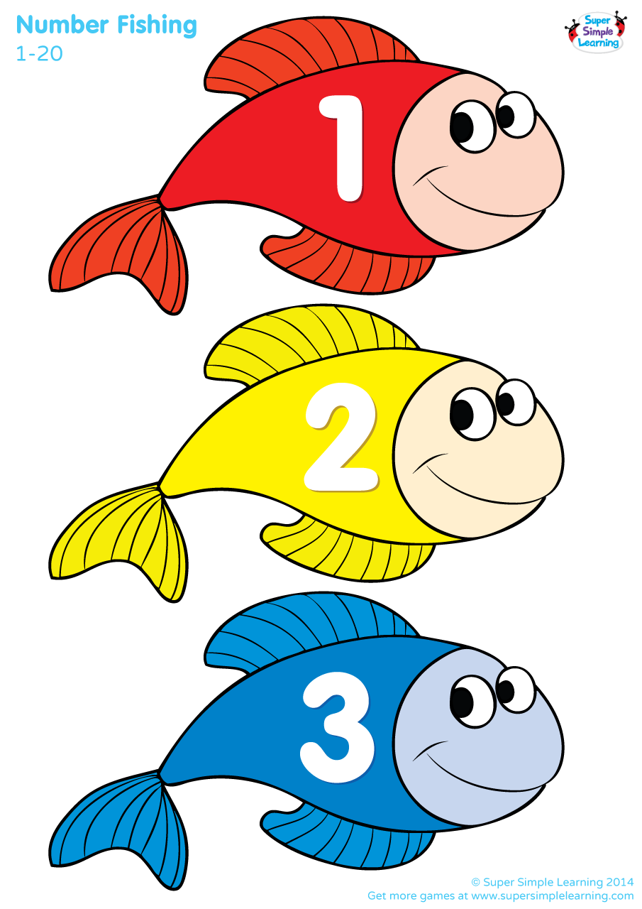 Number fishing game super simple for Easy fishing games