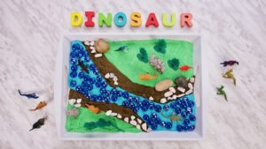 Imaginative Play: Small World of Dinosaurs