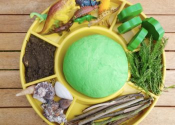 Dinosaur Themed Sensory Play