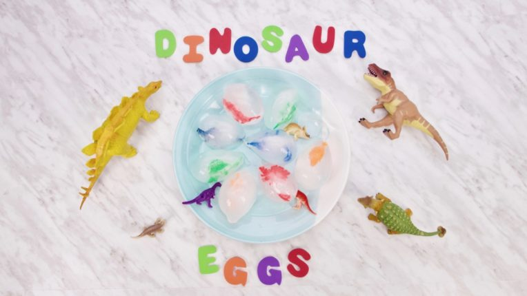 Frozen Dinosaur Ice Eggs