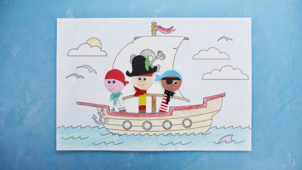 Popsicle Pirates - finished