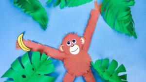 Hanging Around Monkey Craft