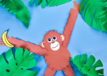 Hanging Around Monkey Craft
