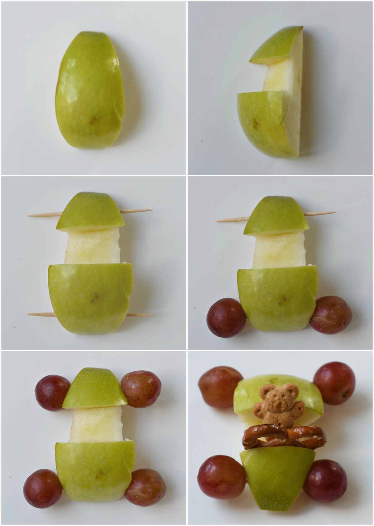 cars made of apples