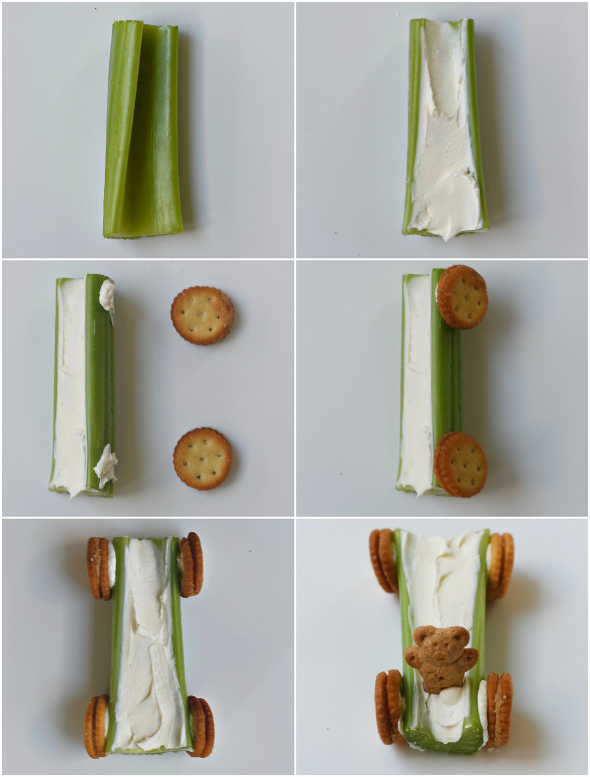 cars made of celery