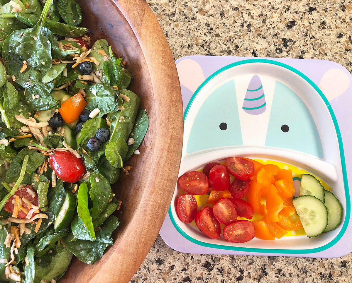 Adult & Child Salad Bowls