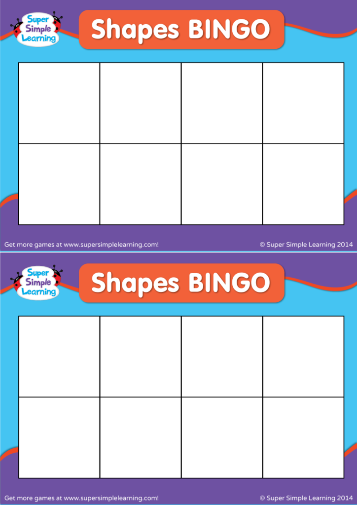 photograph regarding Shape Bingo Printable called Crank out Your Private Designs BINGO - Tremendous Uncomplicated