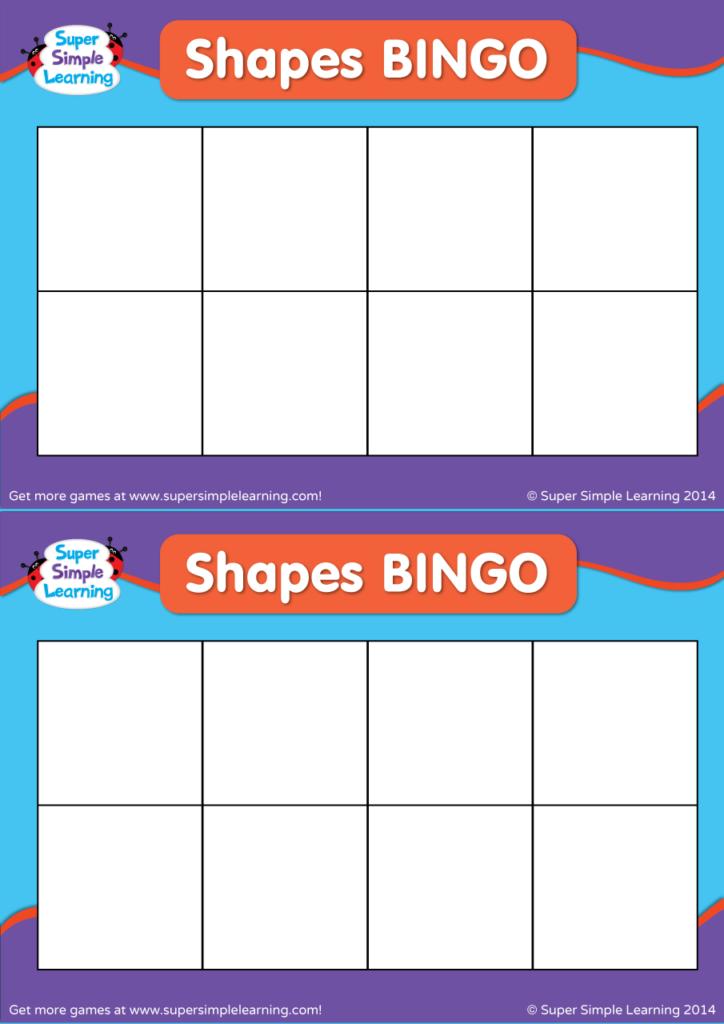 photo relating to Shape Bingo Printable identified as Generate Your Private Styles BINGO - Tremendous Basic