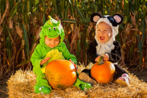 babies at halloween