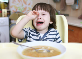 Child Crying over Dinner