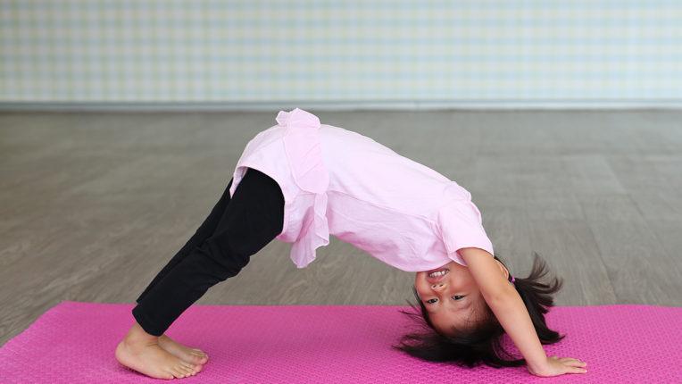 Child in Yoga Pose