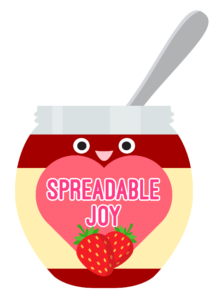spreadable joy logo